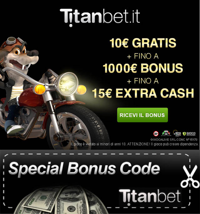 titanbet bonus code
