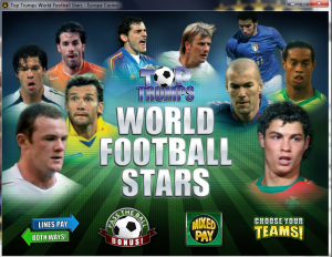 Gioca a Football Stars Slot Machine gratis