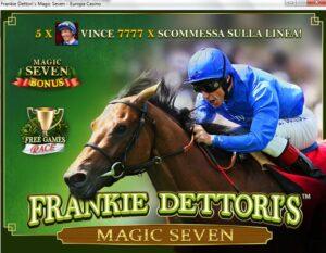 Frankie Dettori Slot Machine gratis