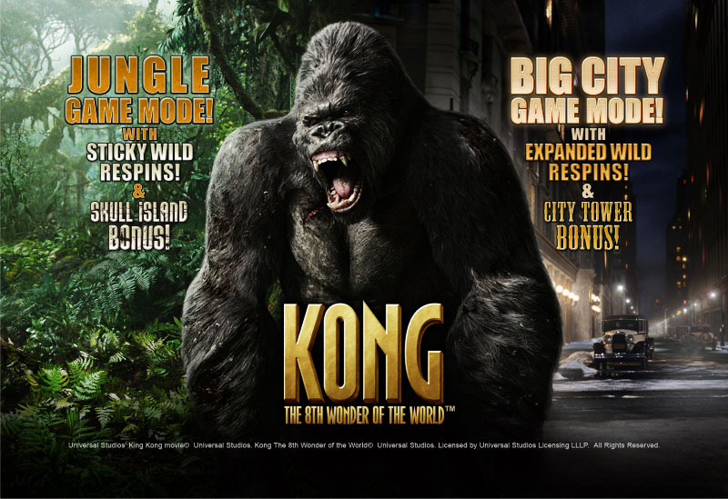 Gioca a Kong slot machine gratis