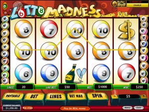 Gioca a Lotto Madness Slot Machine gratis