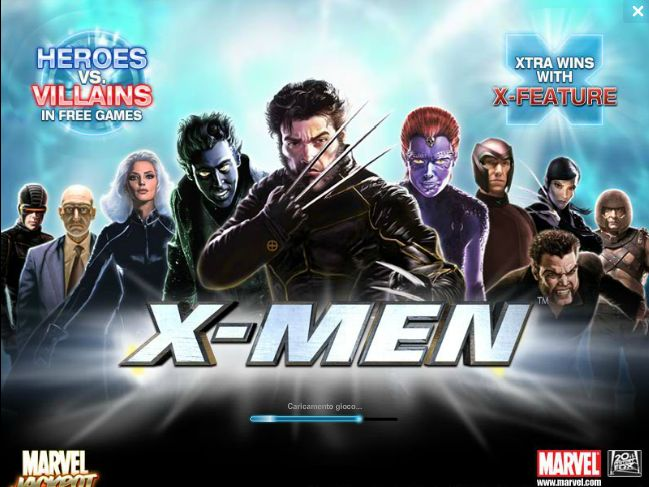 gioca gratis a X-men slot machine