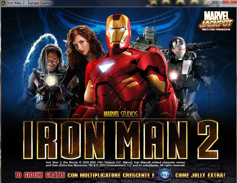 Gioca alla slot machine gratis iron man 2 50 linee