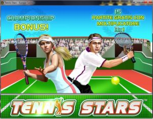 Gioca a tennis stars slot machine gratis