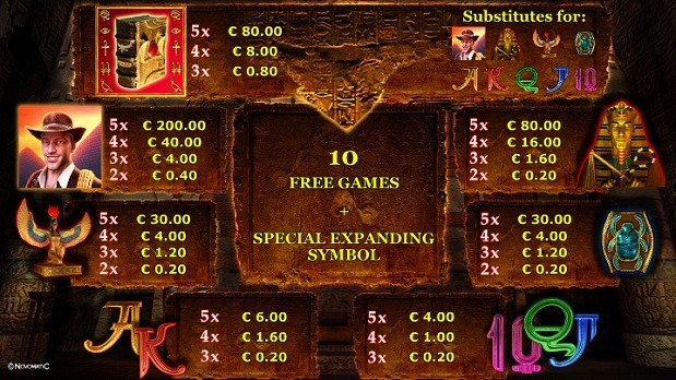 test online casino book of ra 20 cent