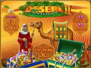 gioca gratis desert treasure slot machine