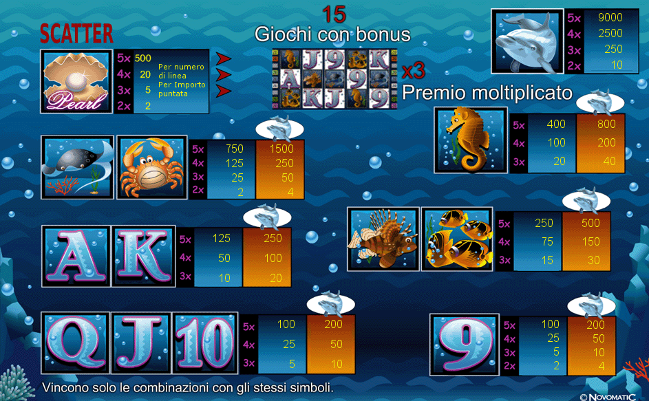 casino slot online dolphins pearl