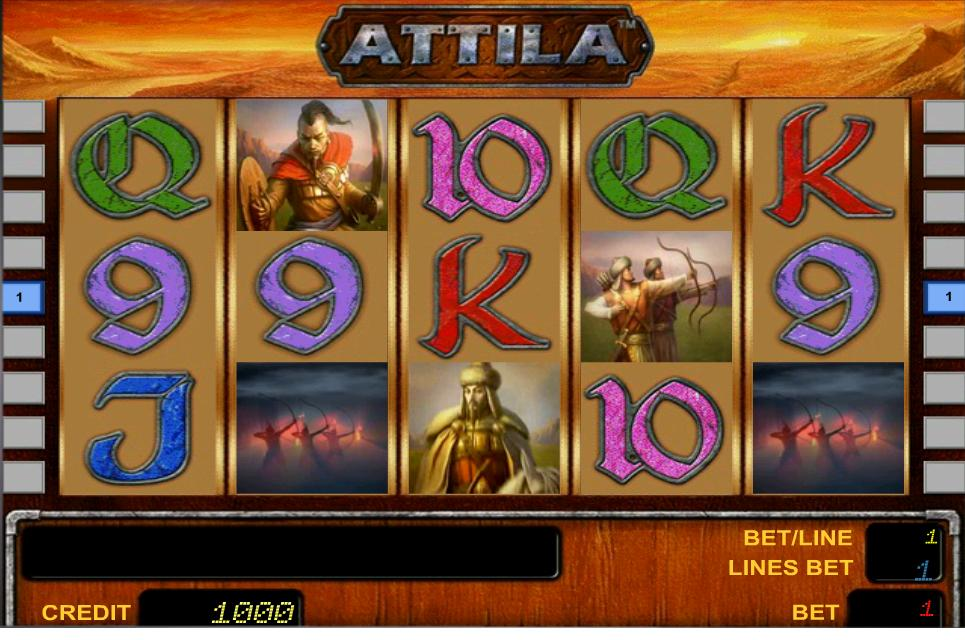 Attila Slot Machine Gratis Online Video Slot Aams