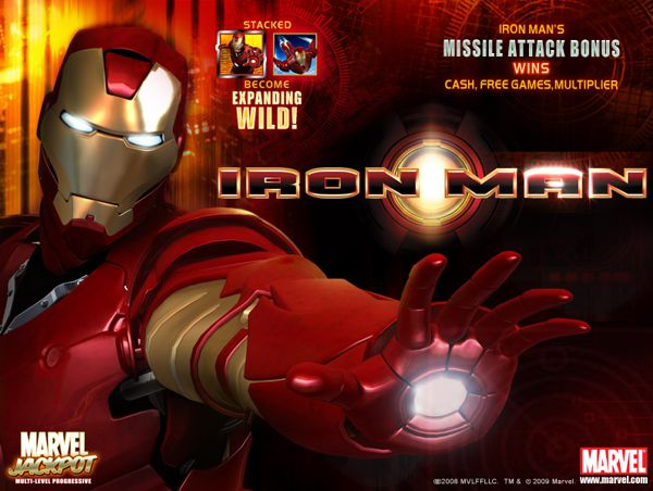 Iron Man Slot Machine Gratis