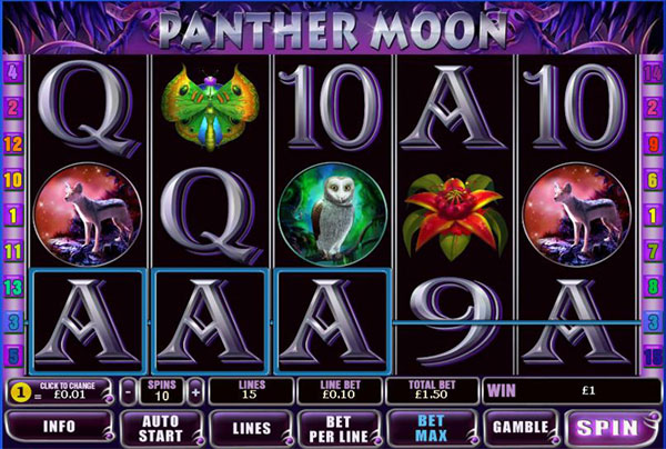 Panther Moon Slot Machine Gratis