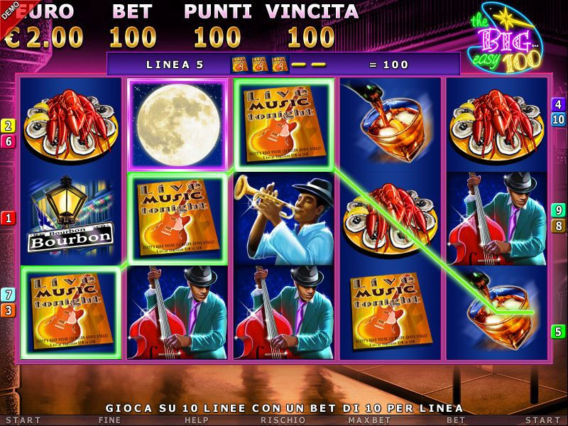 slot machine online big easy