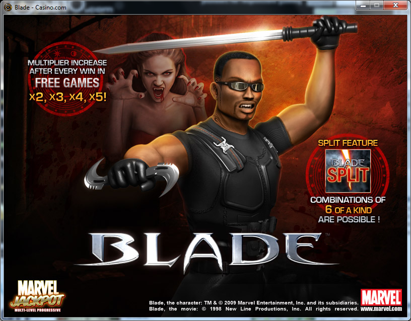blade slot machine