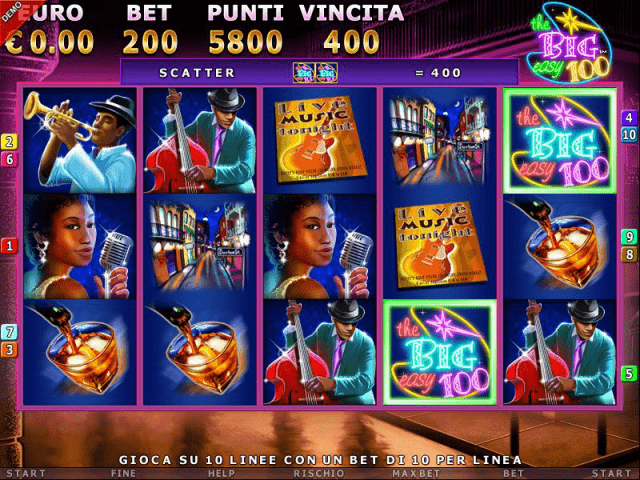 The Big Easy Slot - Gratis Spielo slots online