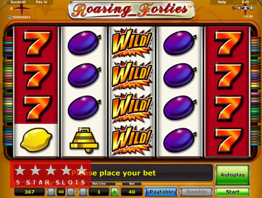slot machine gratis roaring forties