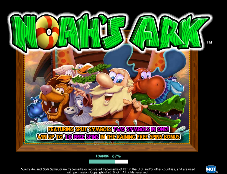noahs ark slot machine online