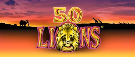50 lions slot machine for sale