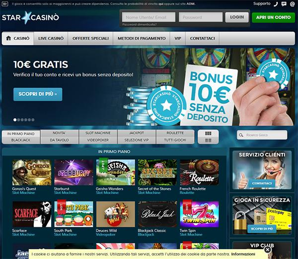 star casino homepage