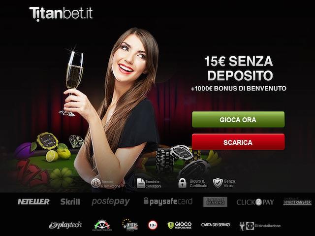 Casino Titanbet bonus code