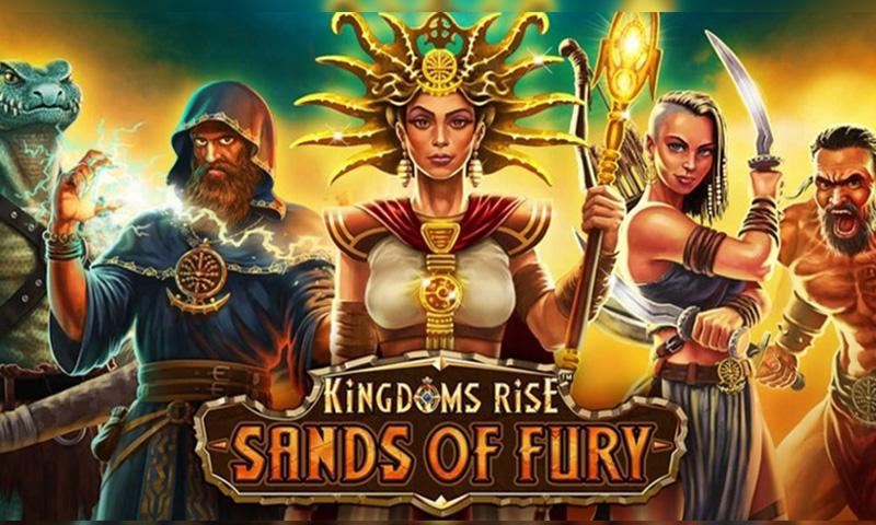 Recensione di Kingdoms Rise: Sands of Fury Video Slot Machine da Playtech